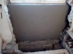Teil 19: Feuchte Wand dank 70er-Jahre-Bausünden – Entschlackung und Trockenlegung