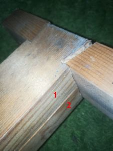 Holz ohne Winkel verbinden miteinander