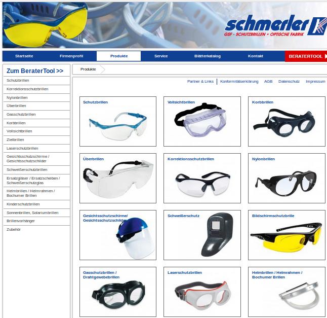 Bildquelle Fotoausriß: Anbieter von Schutzbrillen jedwelcher Art (www.schutzbrillen.com)